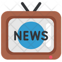 Quarantine Stayhome Tv News Icon