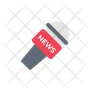 News Broadcast Speaker Icon