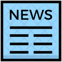 News Article Blogs Icon