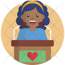 News Help Heart Icon
