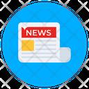 News Newspaper Bulletin Icon