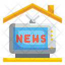 News Television Tv Icon