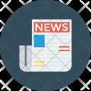 News Newspaper Paper Icon