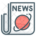 News Events Planet Icon