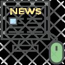 News Online Website Icon