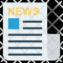 News Press Paper Icon