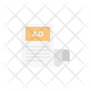 News Ads Paper Icon