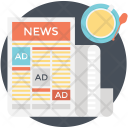 News Advertising Icon