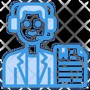 News Anchor Newsreader Avatar Icon