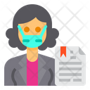 News Anchor Newsreader Occupation Icon