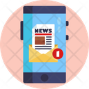 News Broadcasting News Channel News Icon