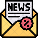 News Letter Discount Newsletter Discount Discount Icon