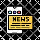 Phone Application News Icon