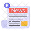 Newsletter Newspaper News Notifications Icon