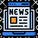 News Report Press Icon