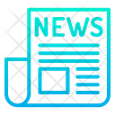 News Paper News Page Icon