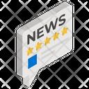 News Ratings Newspaper Ratings News Ranking Icon
