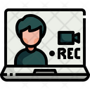 News Recording Icon