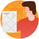 News Editor News Report News Content Icon
