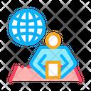 News Worldwide Web Icon