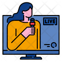 News Reporter Reporter News Icon