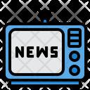 News Television Report Icon