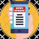 News Broadcasting Internet News Digital News Icon
