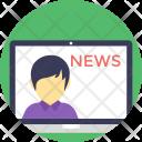 Newscast Icon