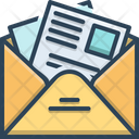 Newsletter Template News Icon