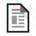 Newsletter Email Newspaper Icon