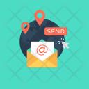 Newsletter International Map Icon