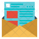 Newsletter Web Subscribe Icon