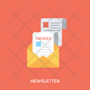 Newsletter Report News Icon