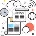 Newsletter Article News Icon