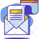 Newsletter Letter Mail Icon