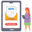 Newsletter Subscription Icon