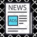 Newspaper News Paper News Icon