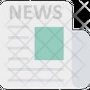 News Newspaper Background Newspaper Icon Icon