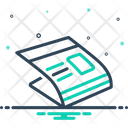 Newspaper Paper Journal Icon