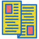 Newspaper News Papers Icon