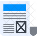 Newspaper Icon