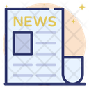 Newspaper Journal Reading Icon