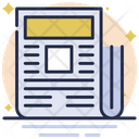 Newspaper News Subscribe Icon