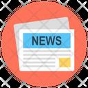 Newspaper News Article News Icon