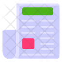 Newspaper Journal Reading Paper Icon