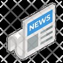 Newspaper Journal Newsletter Icon