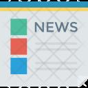 Newspaper Press Newsletter Icon