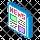News Media Newspaper Icon