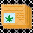 Cannabis Marijuana Journal Icon