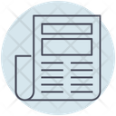 Business Newspaper Article Icon